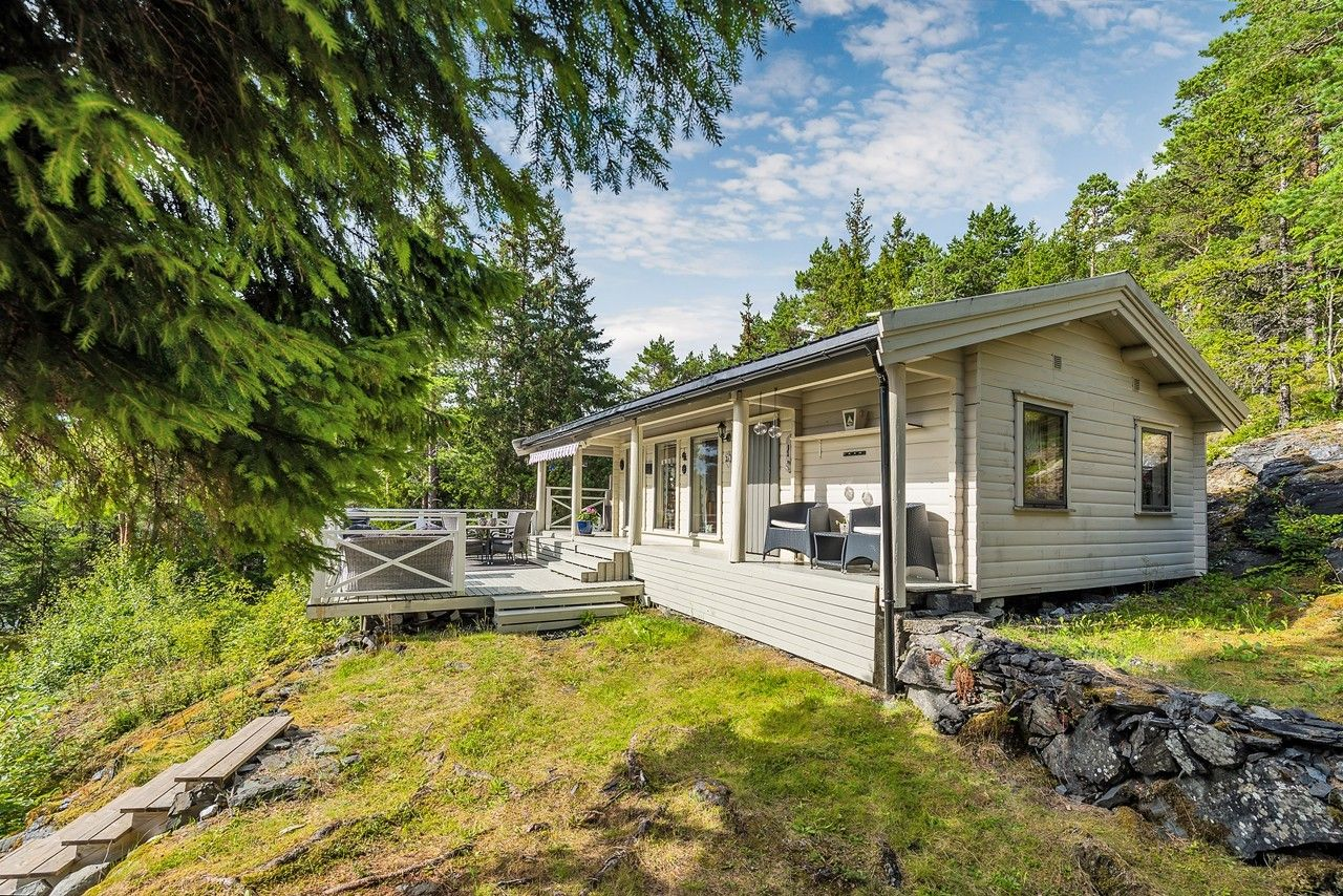 46m2, Norwegia, dom w norweskim stylu
