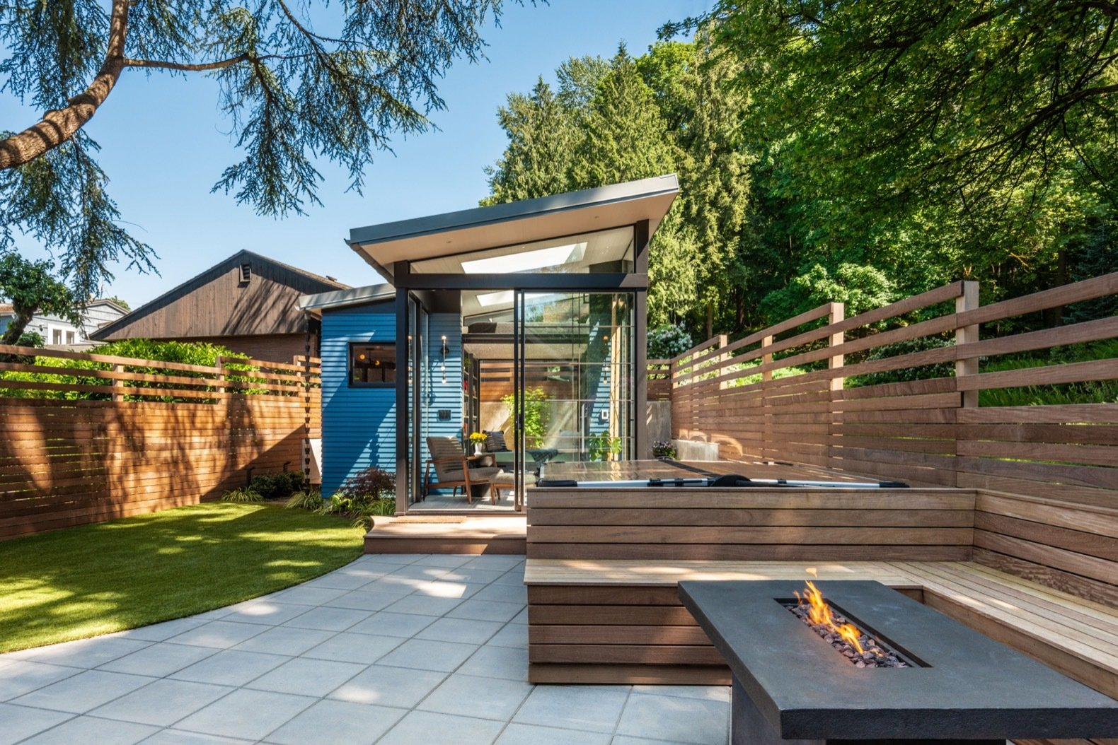 Domek dla gości na ogrodzie