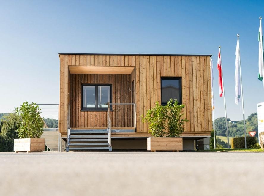 Dom modułowy, projekt Austria