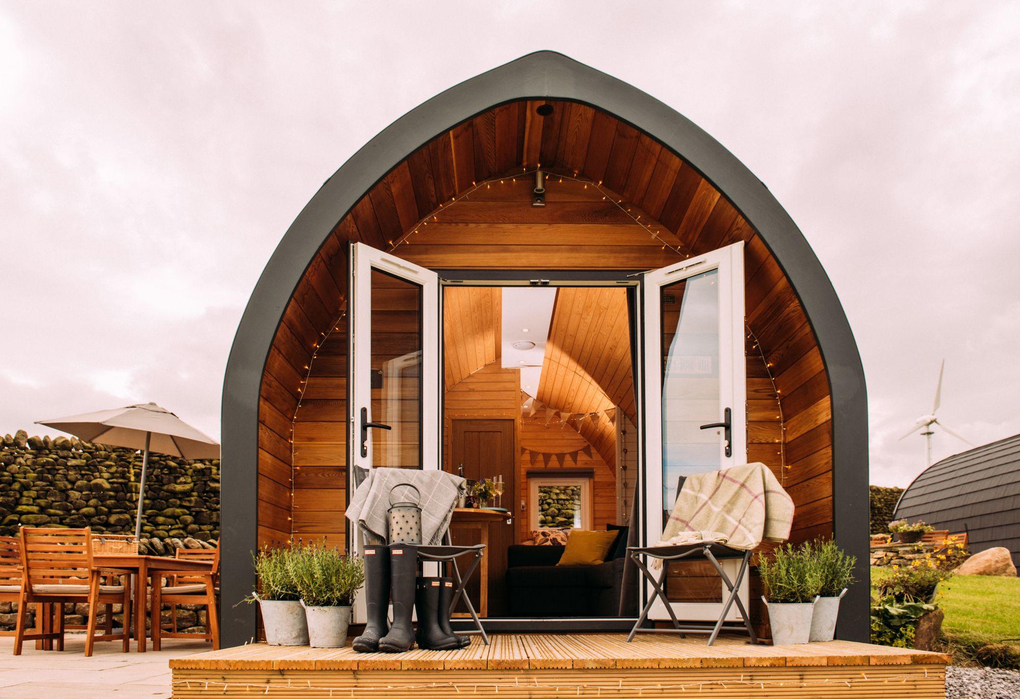 Mały dom wypoczynkowy