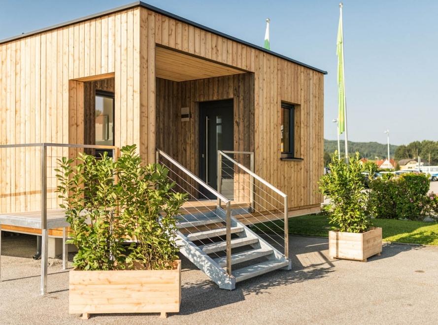 dom modu owy projekt austria budowa domu krok po kroku. Black Bedroom Furniture Sets. Home Design Ideas