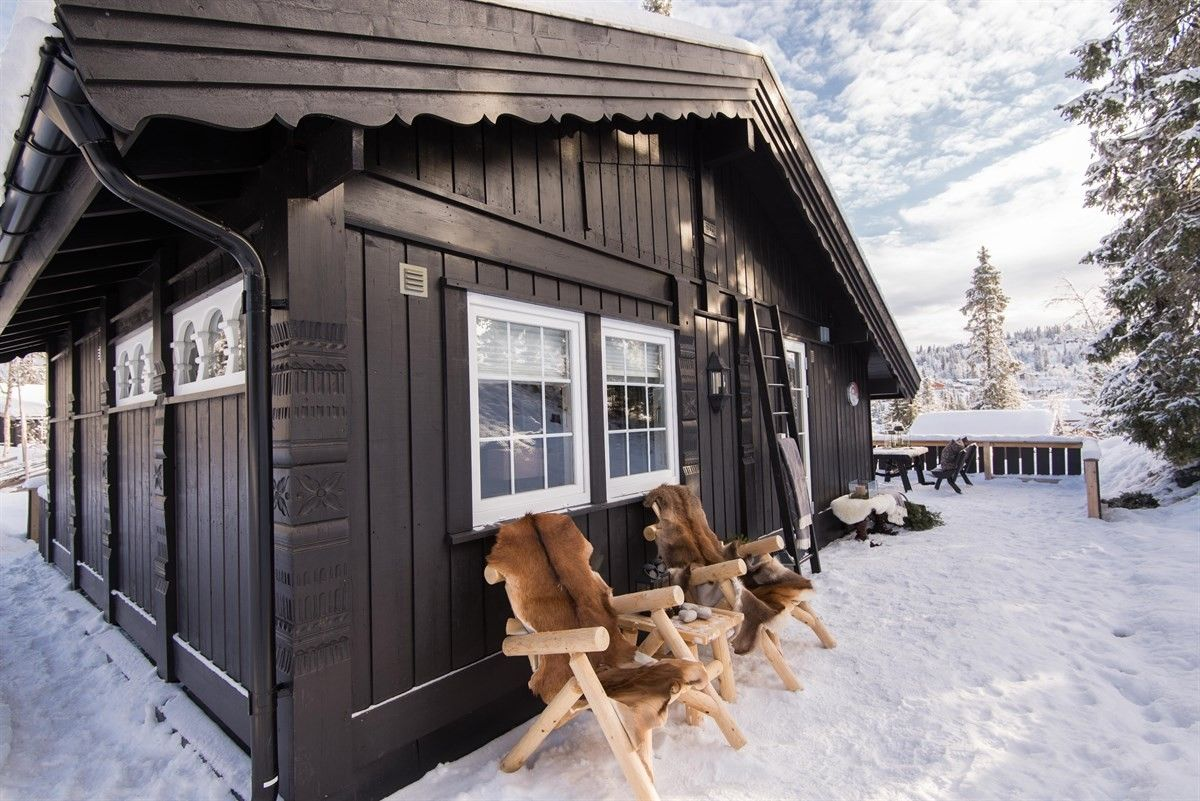 Dom w norweskim stylu, 45m2