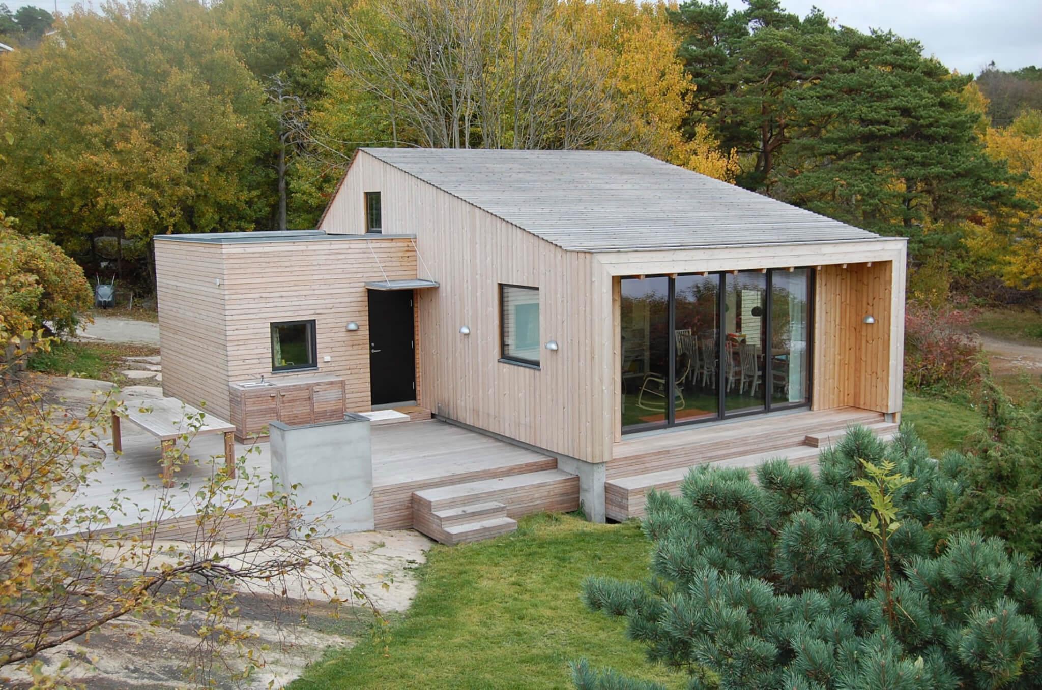 Dom w duńskim stylu