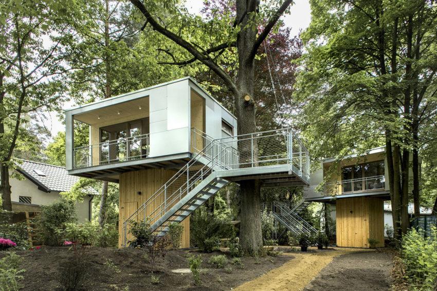 Dom na drzewie, Niemcy