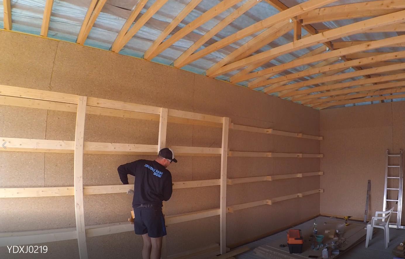 Jak zrobić samemu półki w garażu