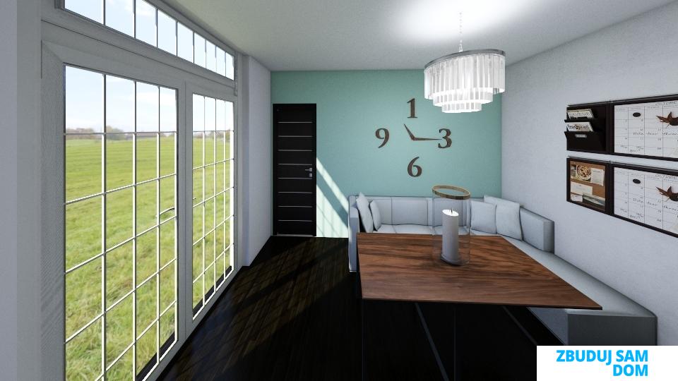 Przykładowa wizualizacja domu 35m2, dom 35m2 na zgłoszenie