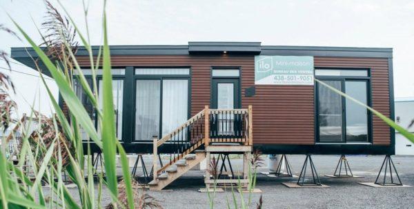 Mały dom projekt z Quebec, Canada