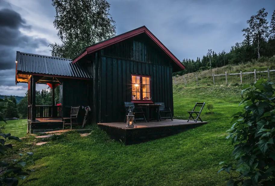 Dom w norweskim stylu
