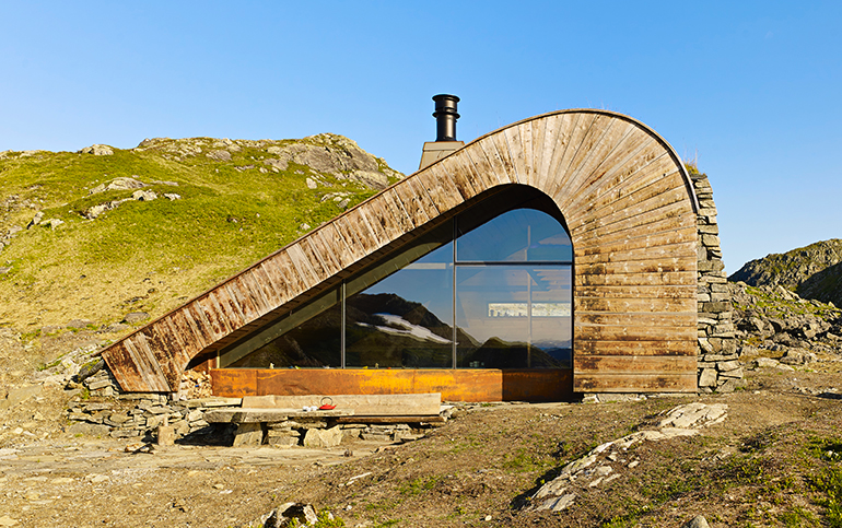 Domek 35m2, myśliwska chata