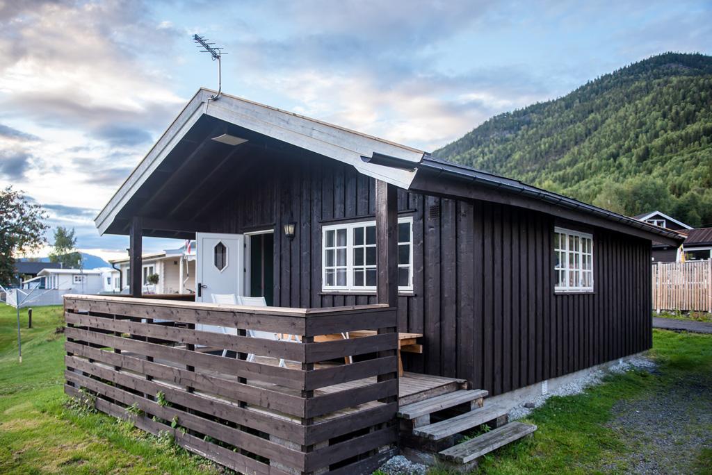 Mały domek letniskowy, Norwegia