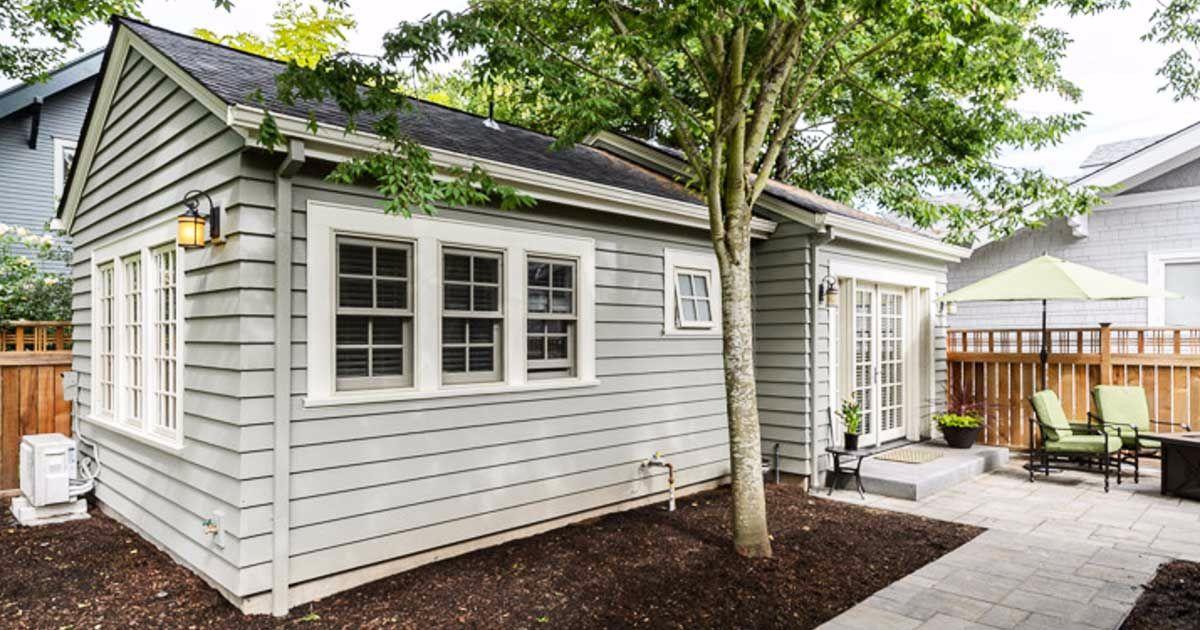 Mały dom do 50m2, Portland