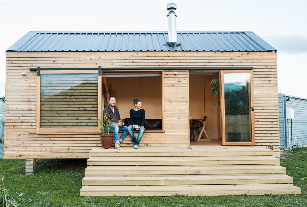 Dom bez pozwolenia na budowę, Nowa Zelandia, 22m2