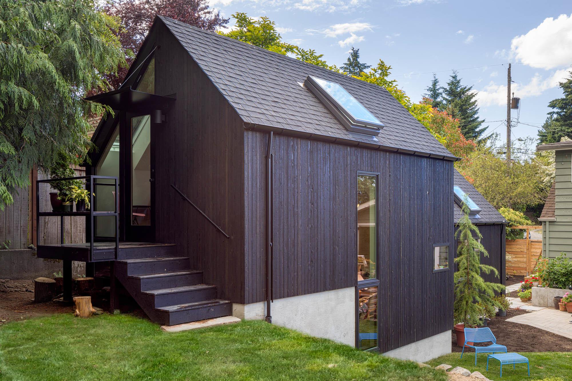 Dom zrobiony z garażu