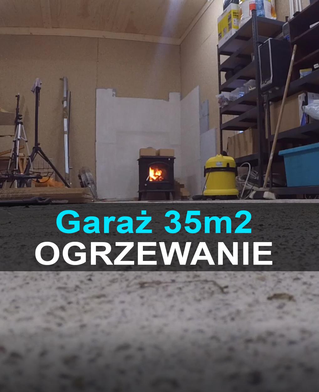 Montaż komina izolowanego, ogrzewanie w garażu, garaż bez pozwolenia na budowę
