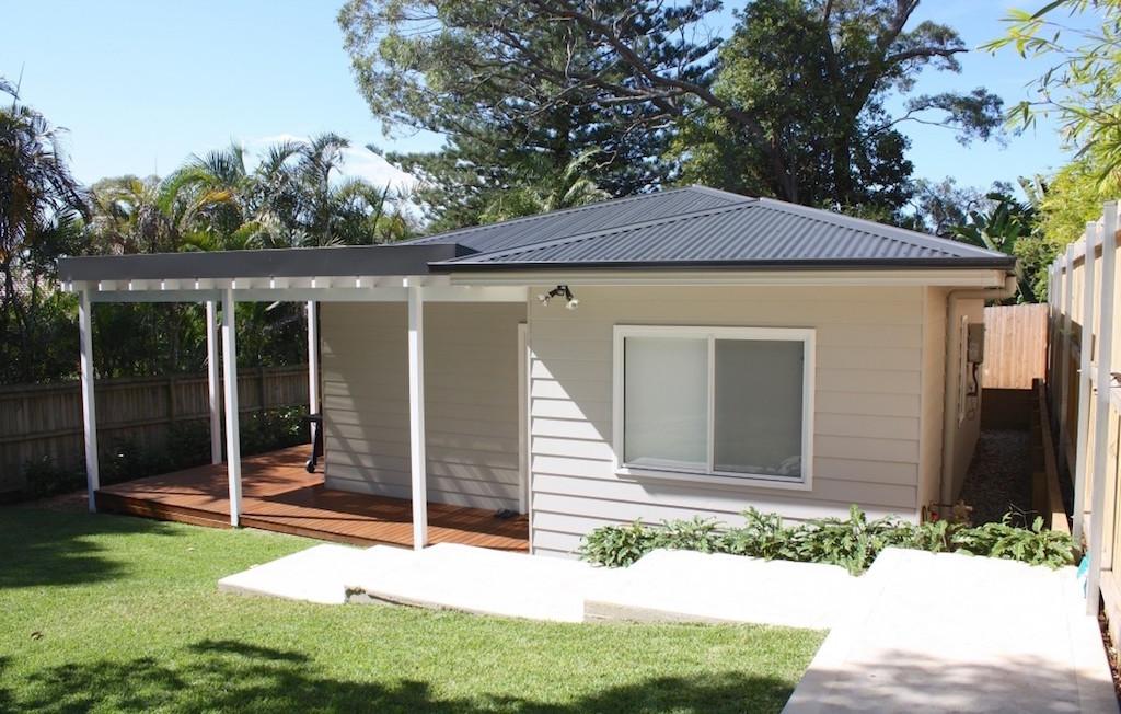 Mały domek na ogrodzie