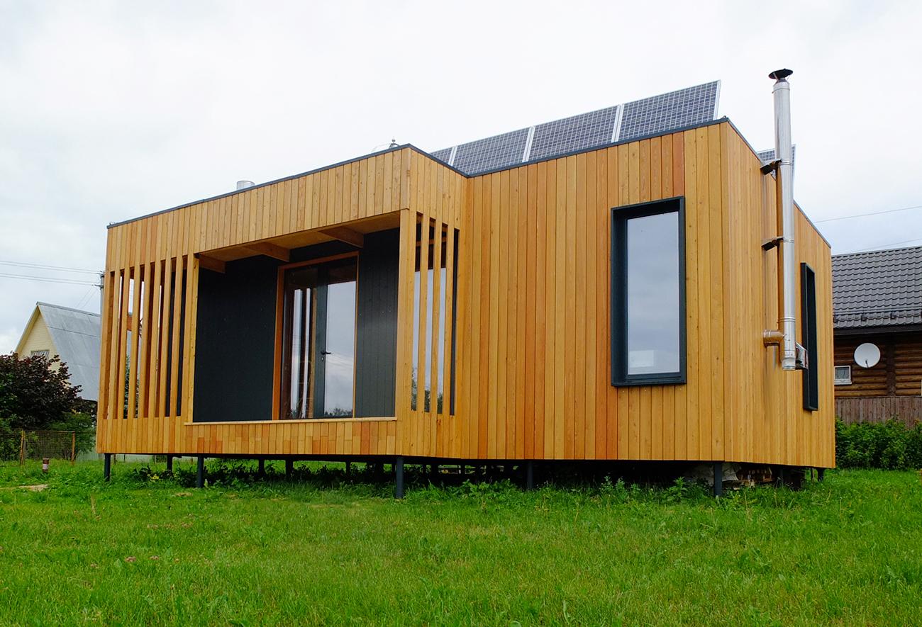 Mały energooszczędny dom, Rosja