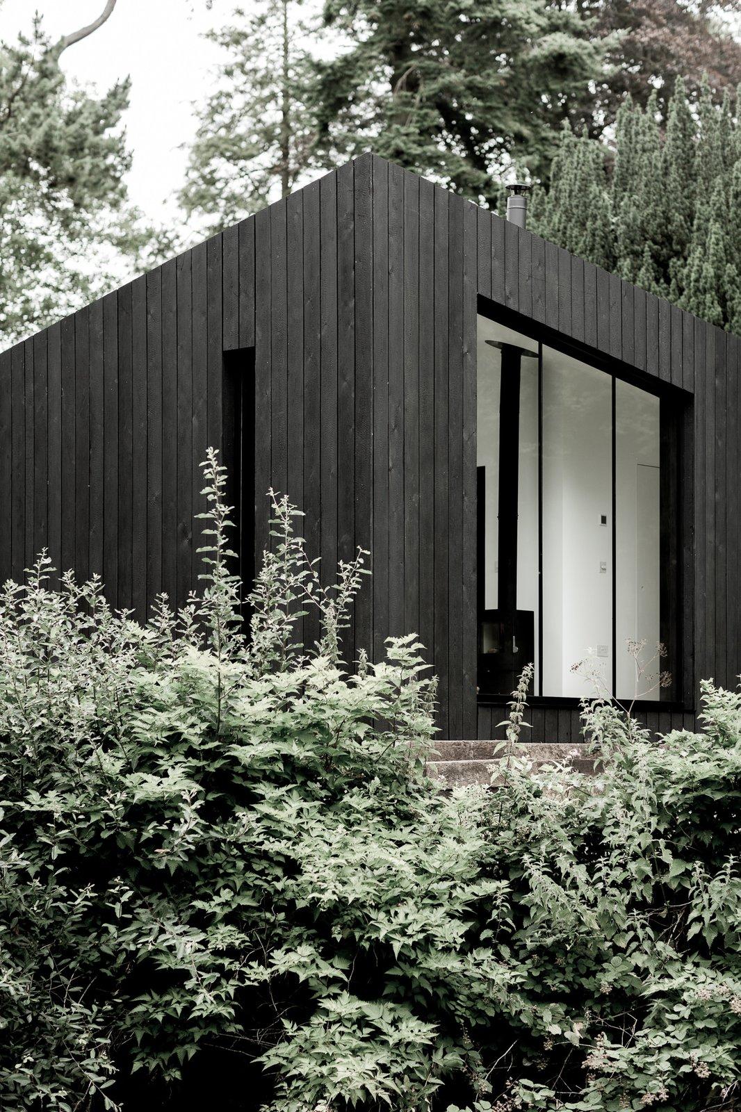 Dom w kształcie trójkąta, domek bez pozwolenia budowę