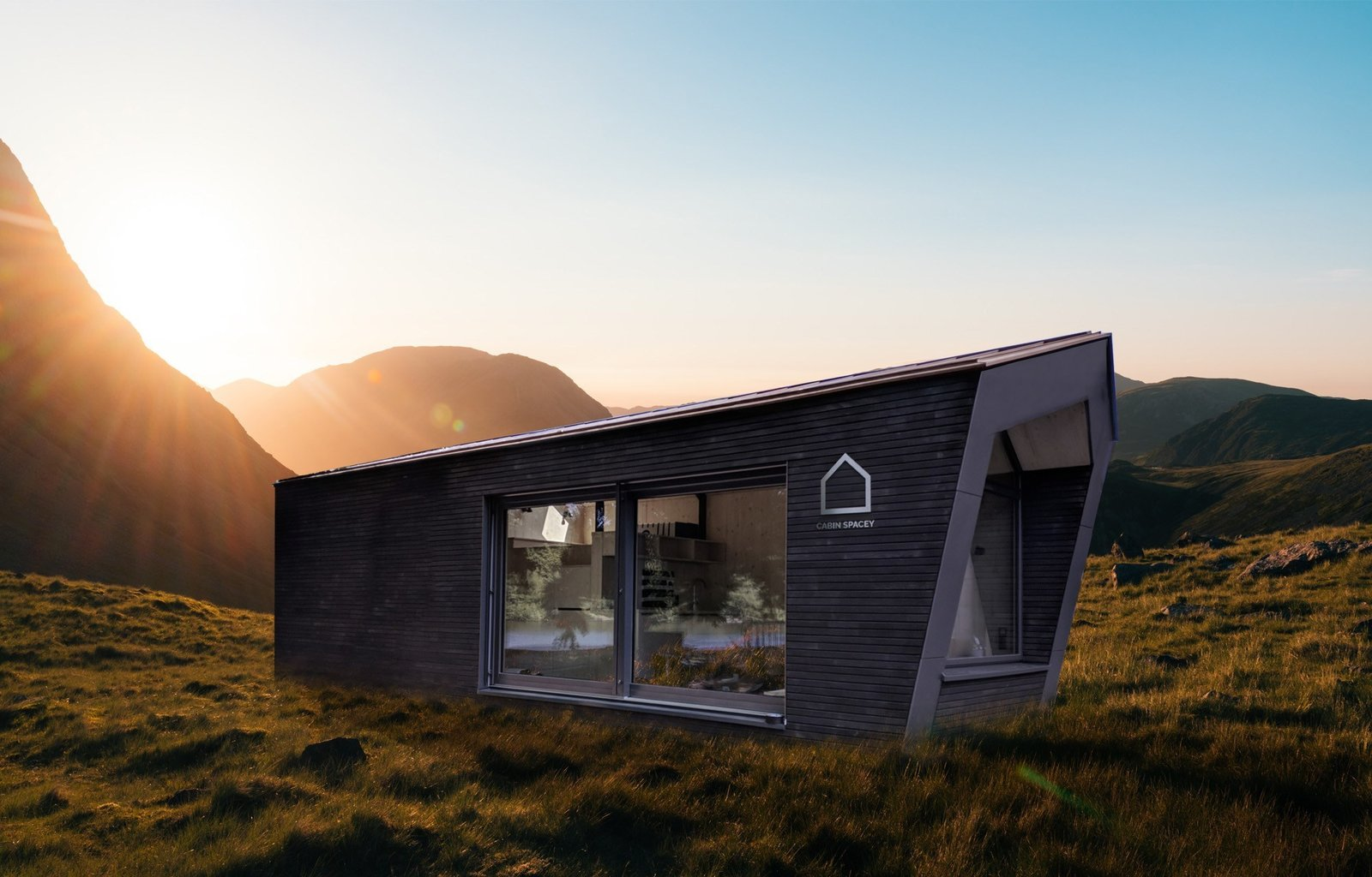 Mały dom modułowy, prefabrykowany