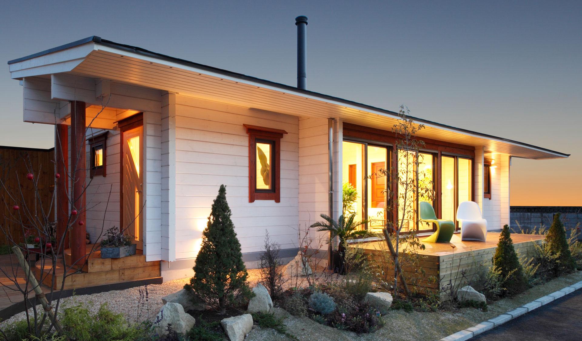 Dom do 100m2, projekt domu 70m2
