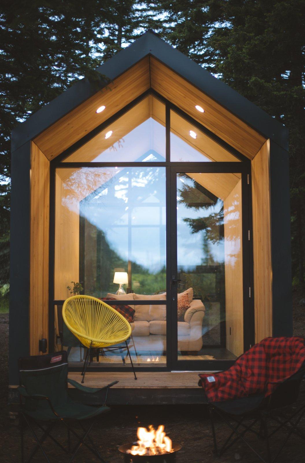 Mini domek wypoczynkowy
