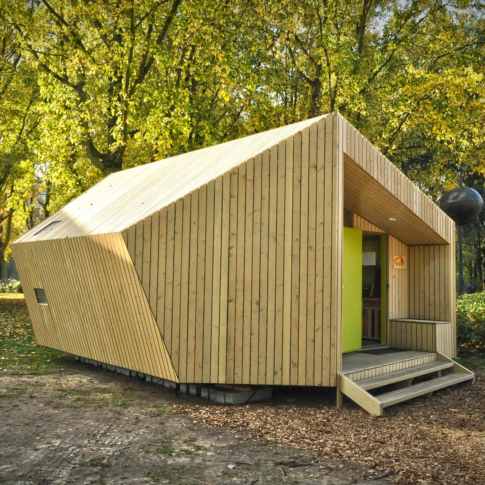 Projekt 35m2 holenderskich architektów