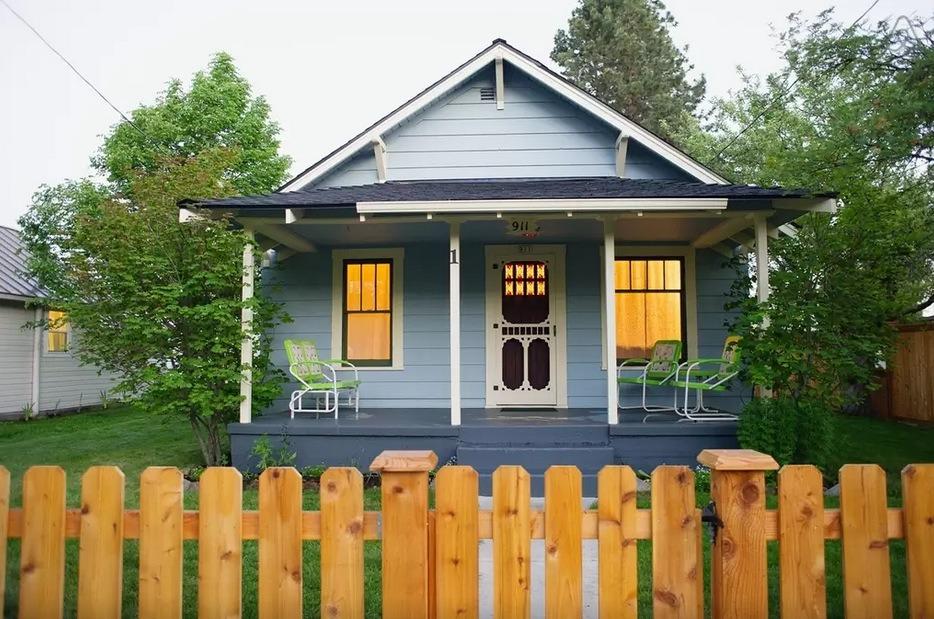 Mały amerykański domek
