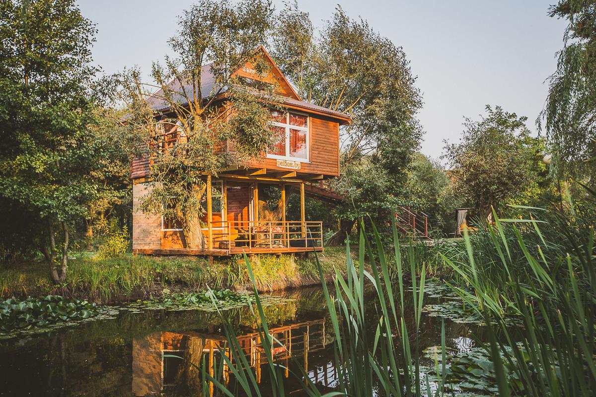 Altana, dom na drzewie