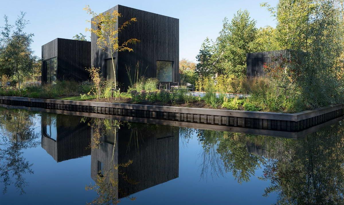 Minimalistyczny domek w Holandii