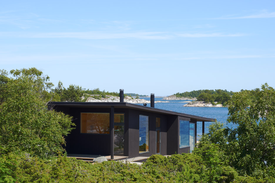 Domek wypoczynkowy nad jeziorem