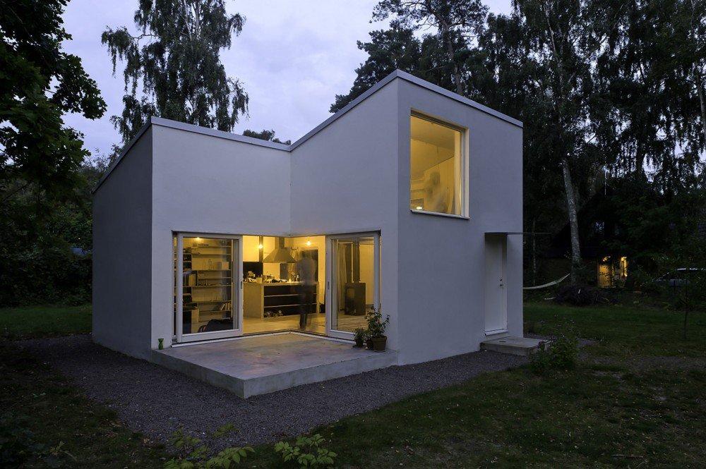 Dom do 100m2, Szwecja