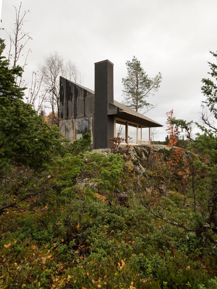 Mały domek w Norwegii