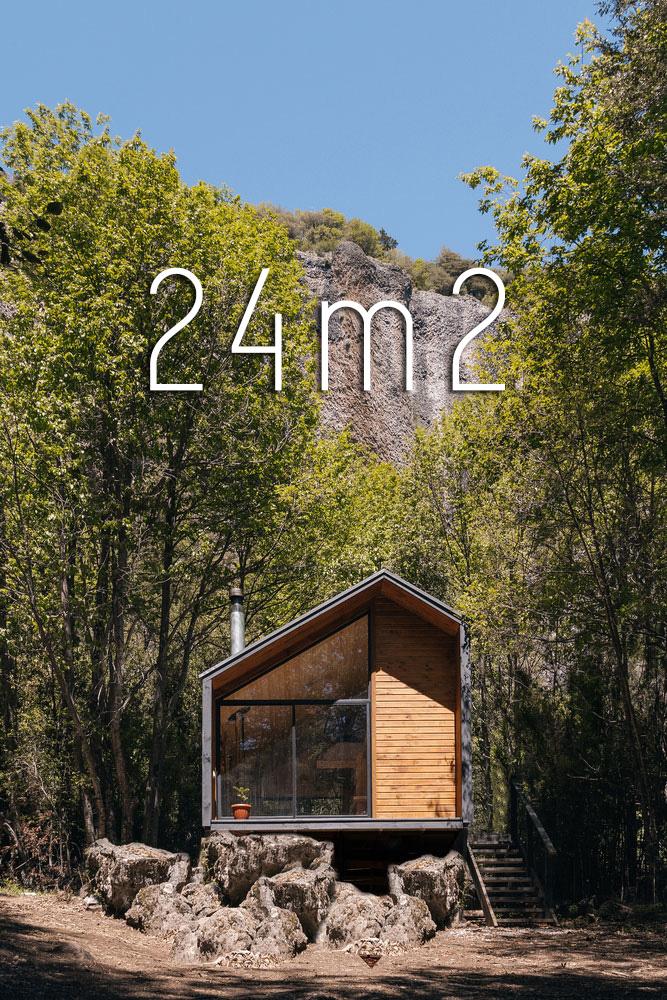 Dom do 35m2, Chile