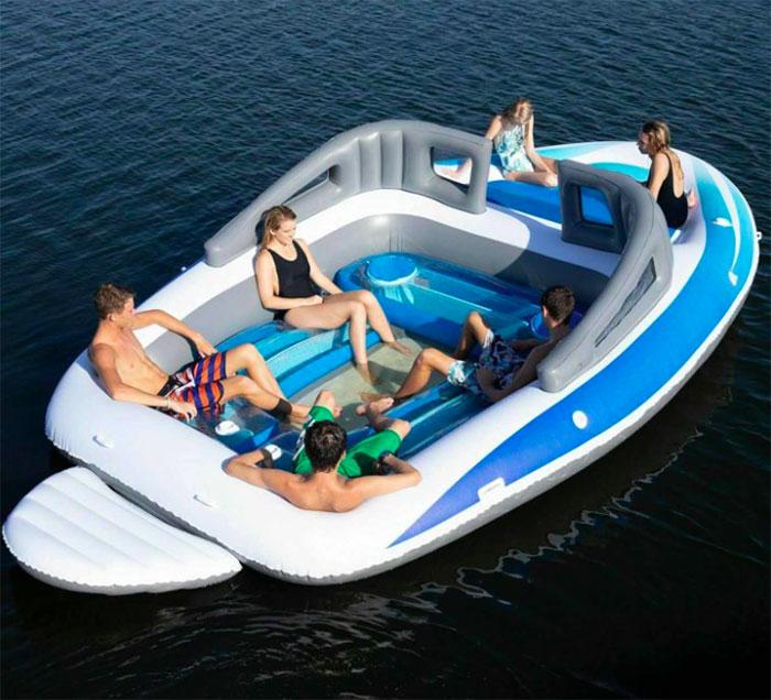 Dmuchana łódź