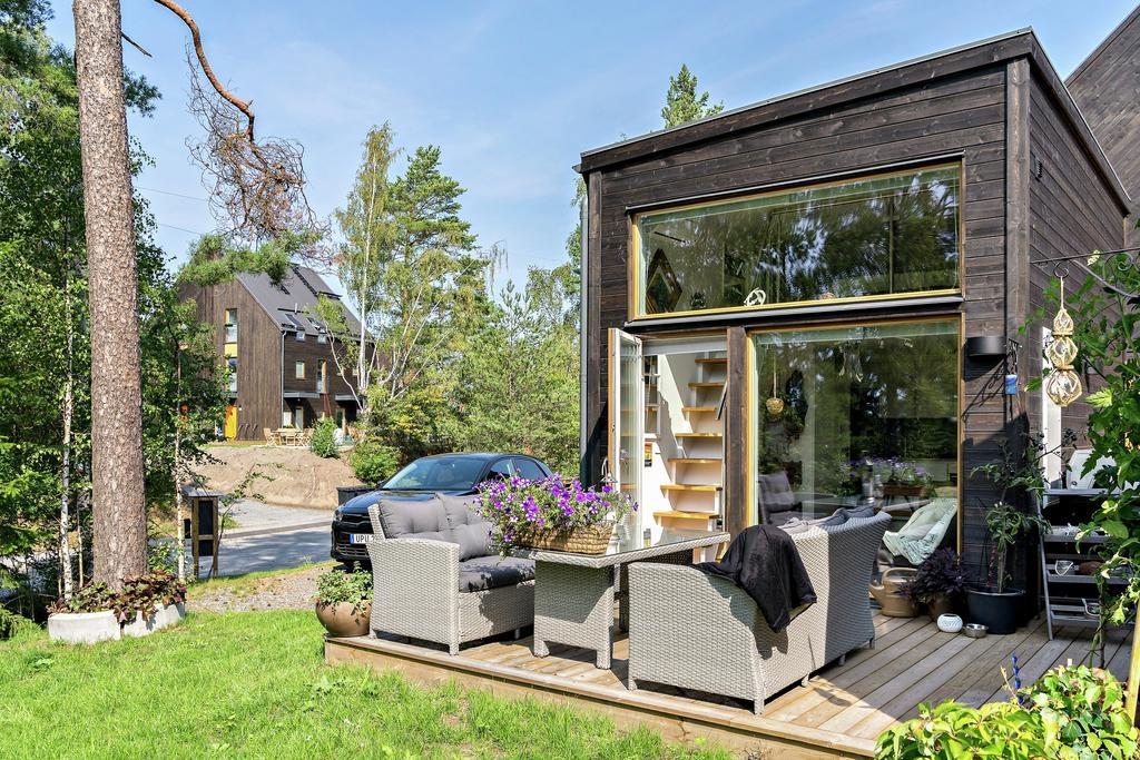 Dom 35m2 bez pozwolenia, dokładnie 34m2, Szwecja