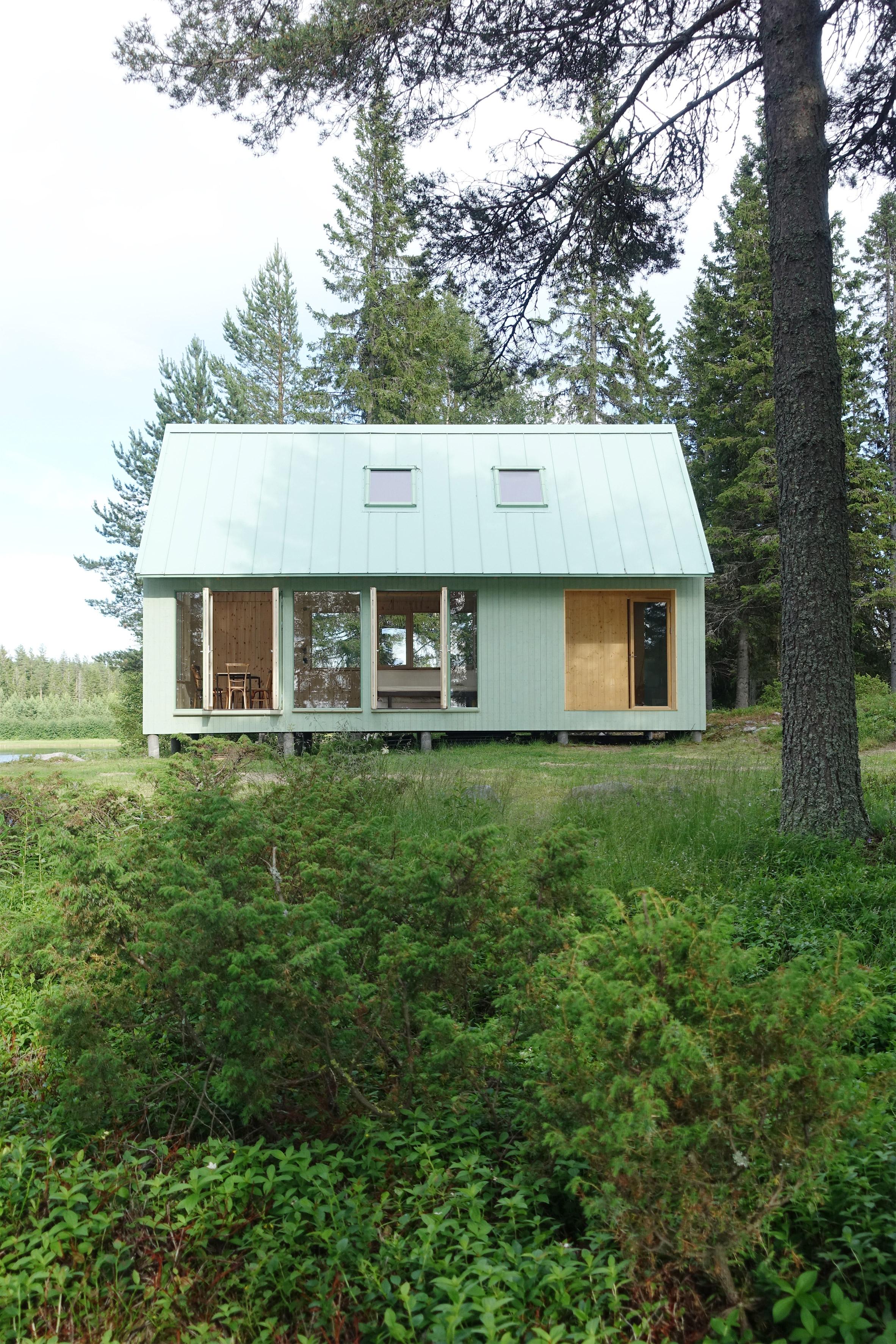 Mały dom na odludziu