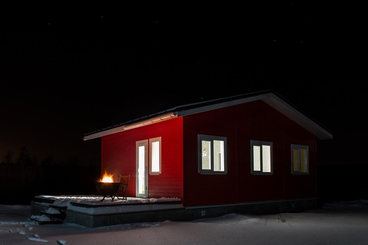 Projekt małego domu parterowego