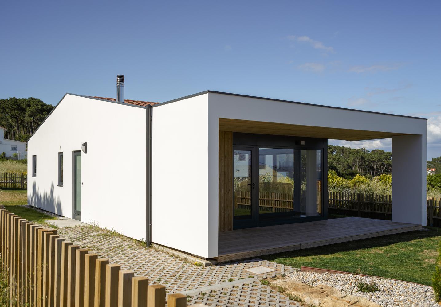 Dom do 100m2, projekt z Hiszpanii